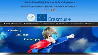 On-line music education manual: Early Childhood Music Education in the Mediterranean